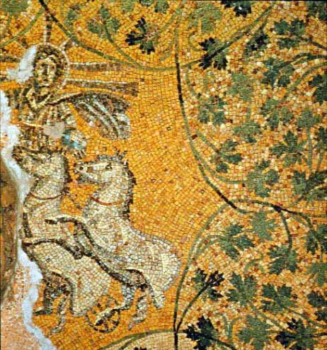Мозаика ватиканского некрополя.