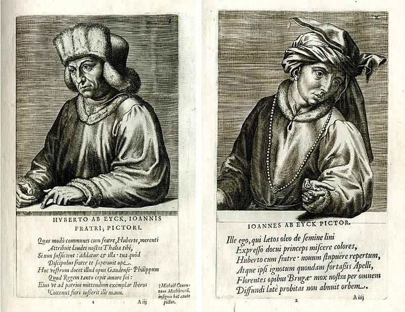 Возможные портреты Губерта и Яна.