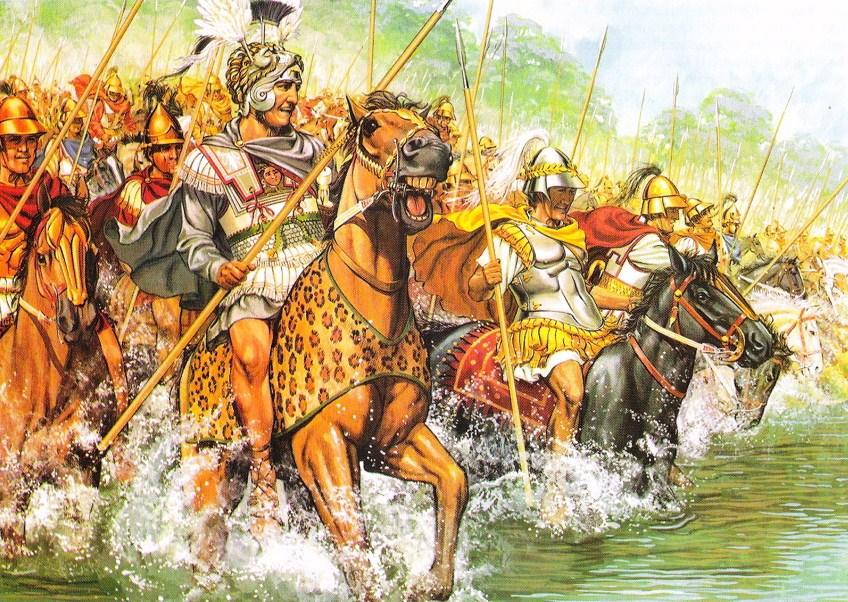 Армия Александра.