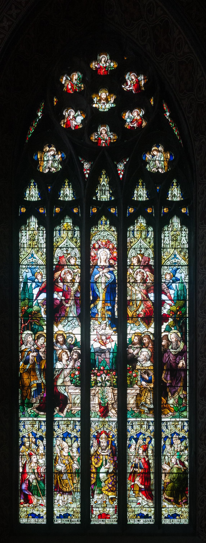 Мозаика католического собора Святого Патрика в городе Арма. <br>
