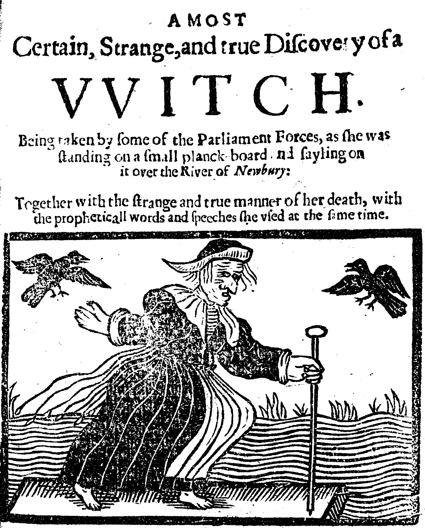 Изображение ведьмы. <br>