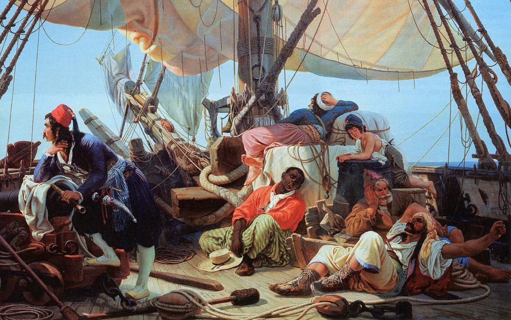 Веротерпимый Алжир: последний оплот пиратства