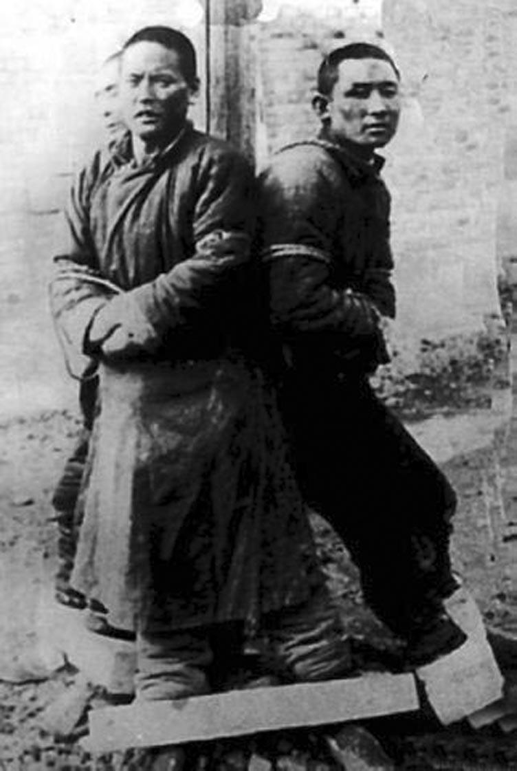 Подопытные пленники.
