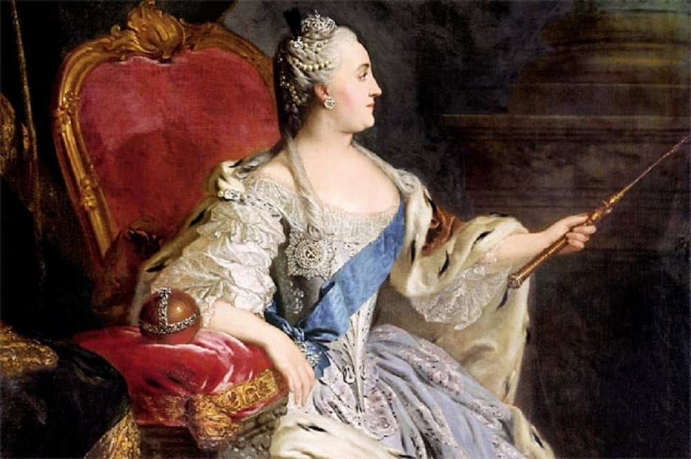 Екатерина великая оргии