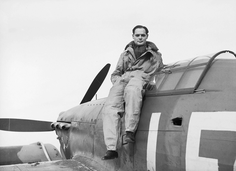 Дуглас Бадер, 1940 год.