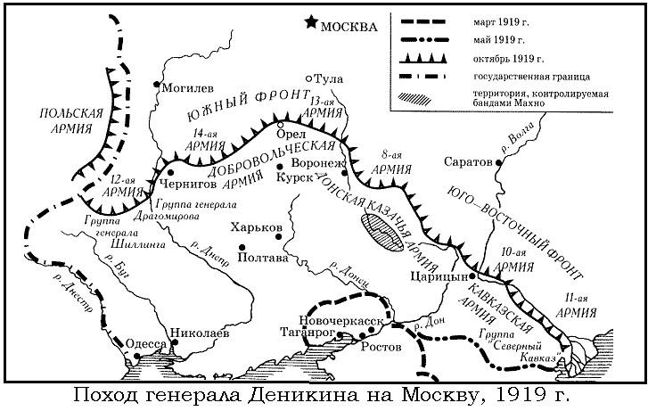 Поход на Москву.