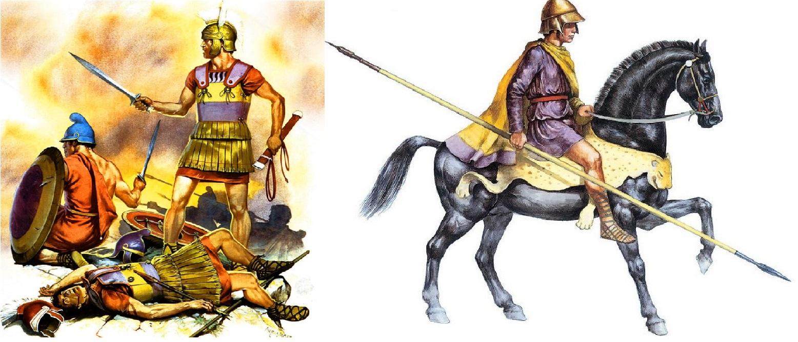 Македонские воины.