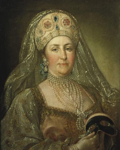 Портрет Екатерины II в русском наряде кисти неизвестного художника.jpg