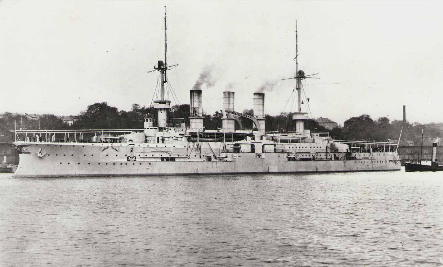 Броненосный крейсер «Фридрих-Карл». <br>