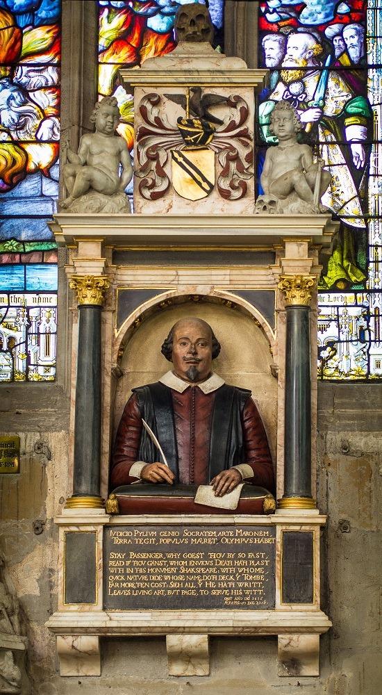 Бюст над могилой Шекспира назвали прижизненным изображением