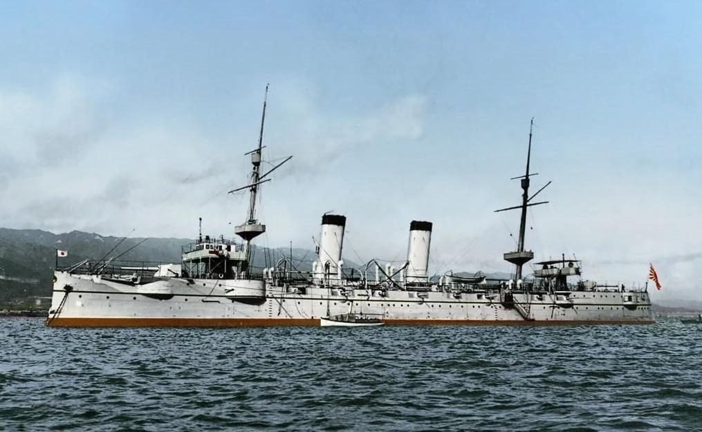 Легкий крейсер «Такасаго». <br>