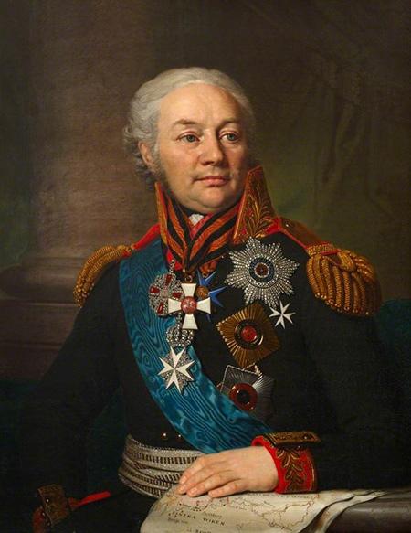 Командующий русской армией в войне сШвецией генерал Ф. Ф. Буксгевден.