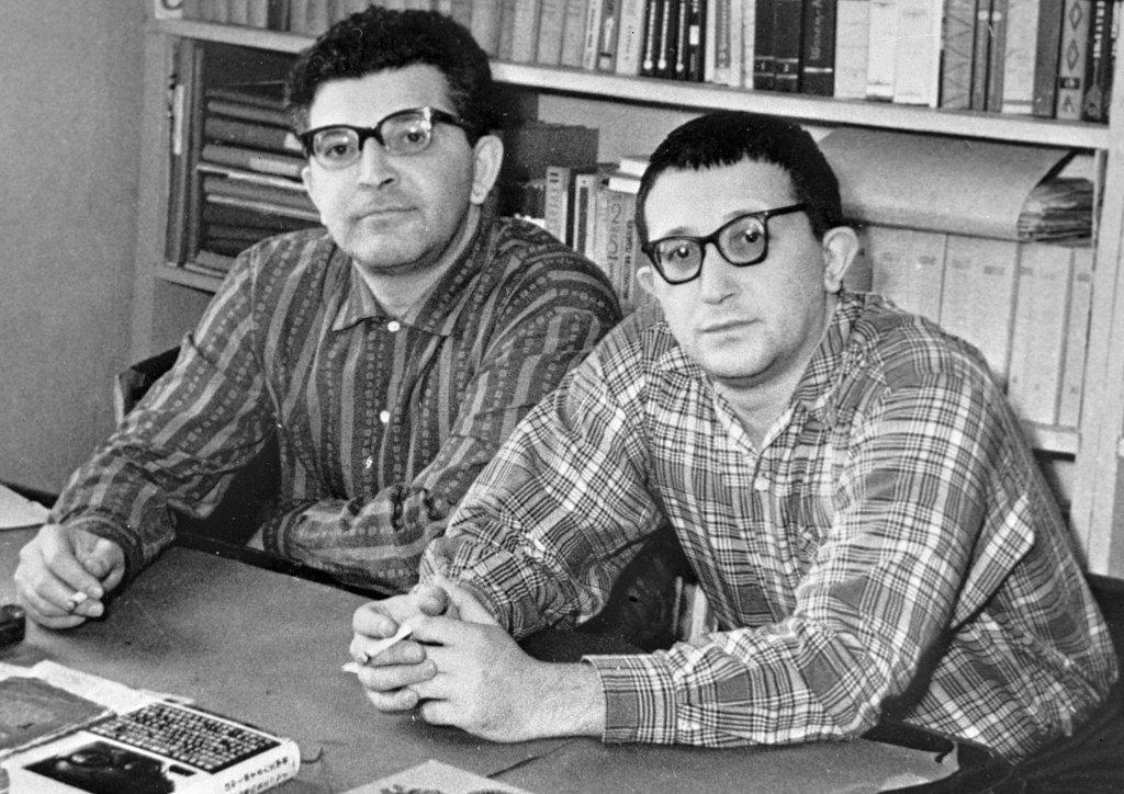 Братья Стругацкие, 1973.  Источник: «Дилетант»