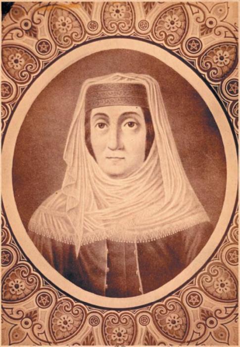 Портрет царицы Мариам.  Источник: Б.Акунин «Нечеховская интеллигенция»