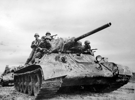 Танк Т-34 образца 1941 года.