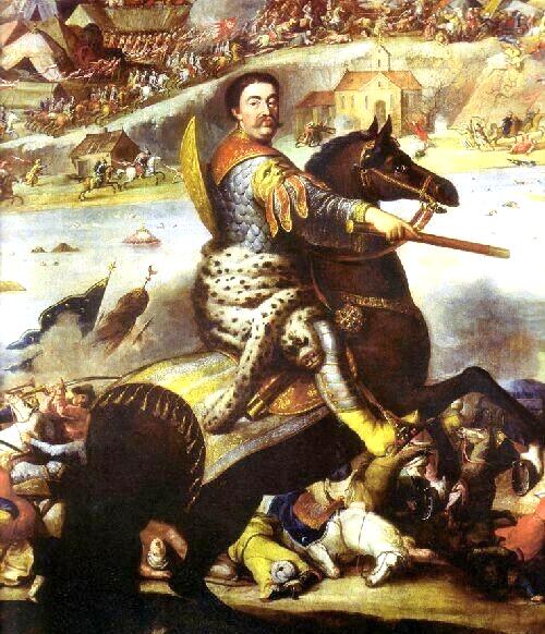 фото 4 Ян Собеский в битве под Хотином (картина Анджея Стеха).PNG