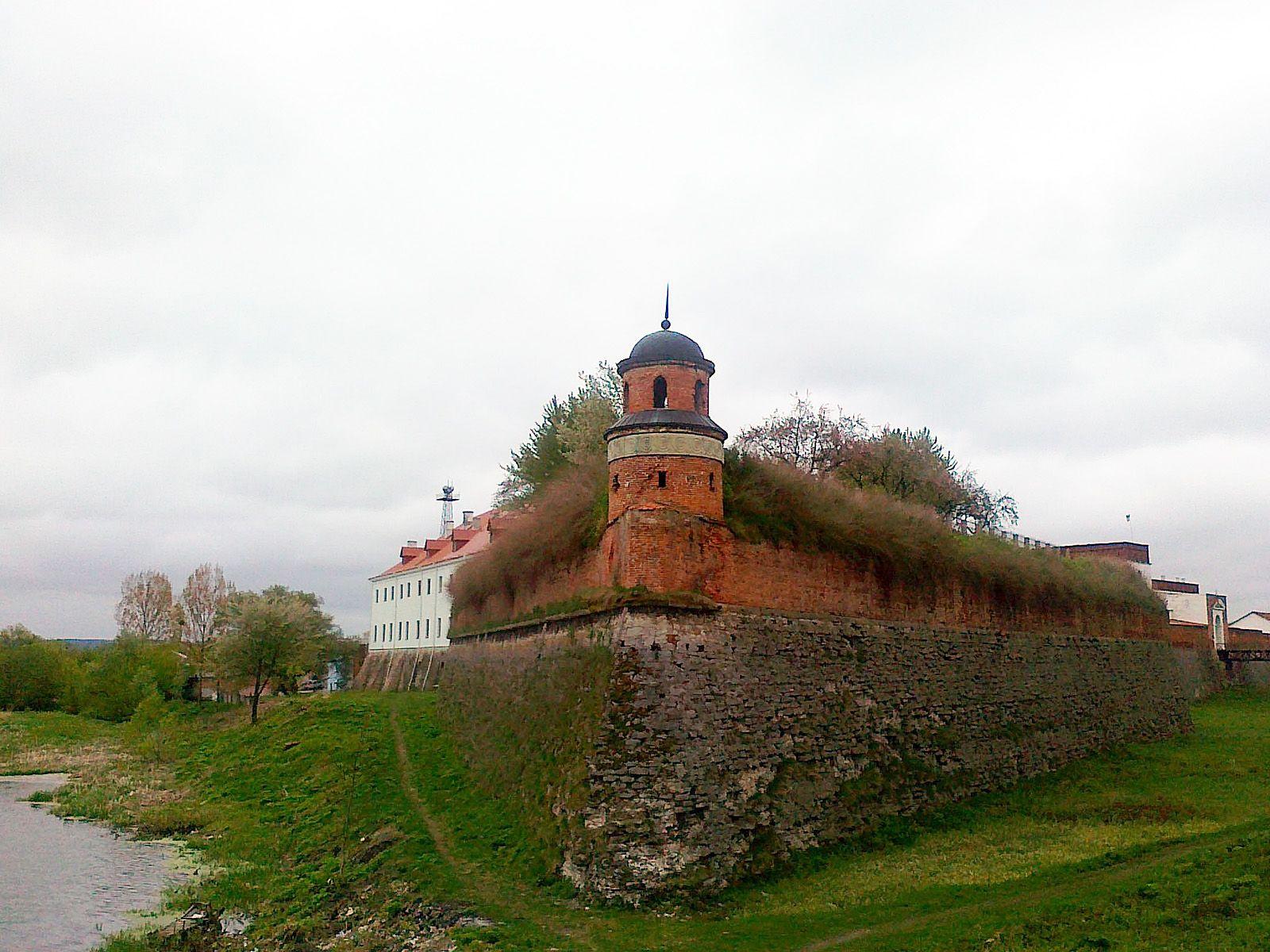 Дубенский замок, современный вид.