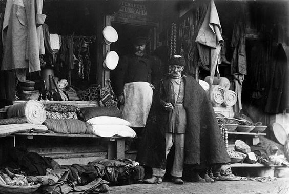 Photograph by Dmitri Ivanovich Yermakov around 1900. Tiflis The Bazaar.jpg