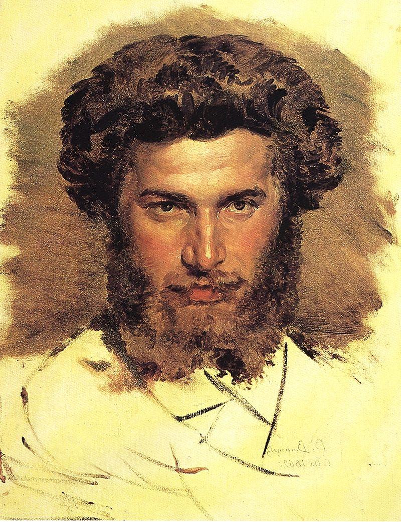 фото 2 Портрет работы В. М. Васнецова, 1869.jpg