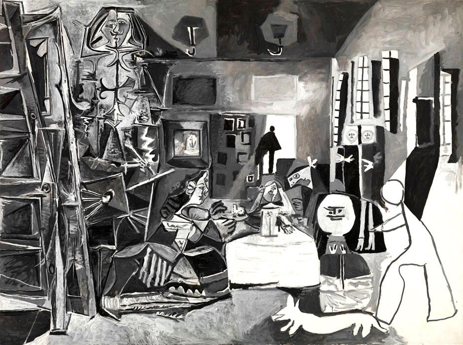 ФОТО 2 Одна из вариаций Пикассо на тему -Менин-, 1957.jpg