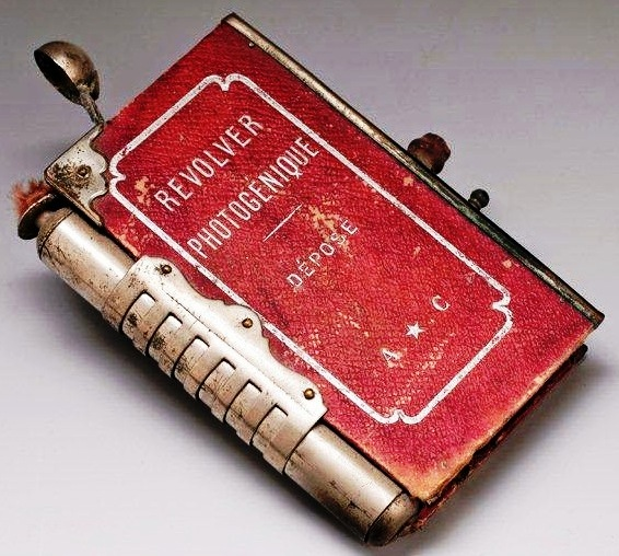 Книжная камера со вспышкой «Revolver Photogénique», Франция, 1890.
