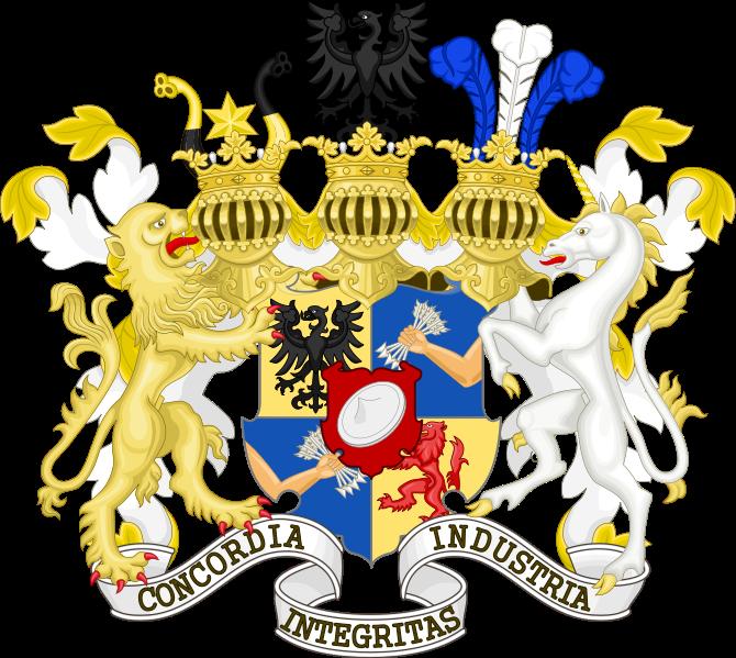 Герб семейства Ротшильдов.