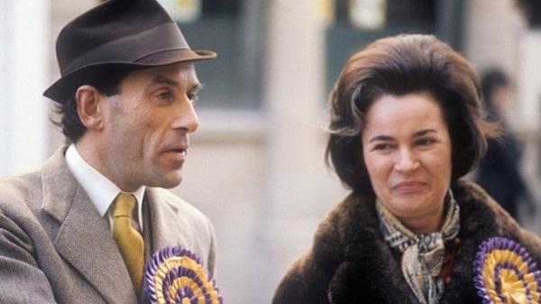 Торп с женой Мэрион, 1974-й год.