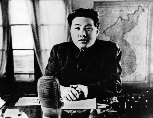 Ким Ир Сен. <br>