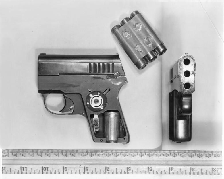 Пистолеты Хохлова, переданные западным спецслужбам. Источник: Pinterest