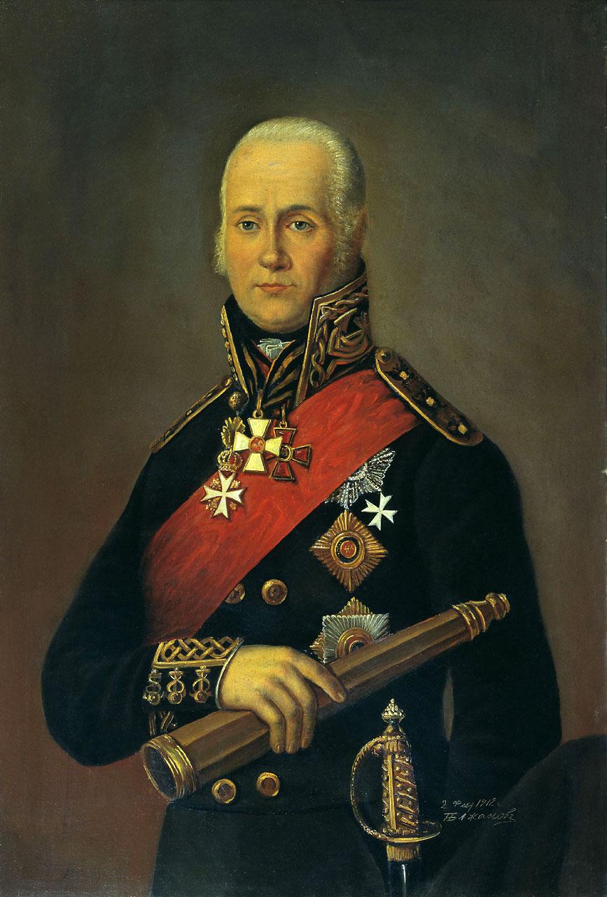 Федор Федорович Ушаков.