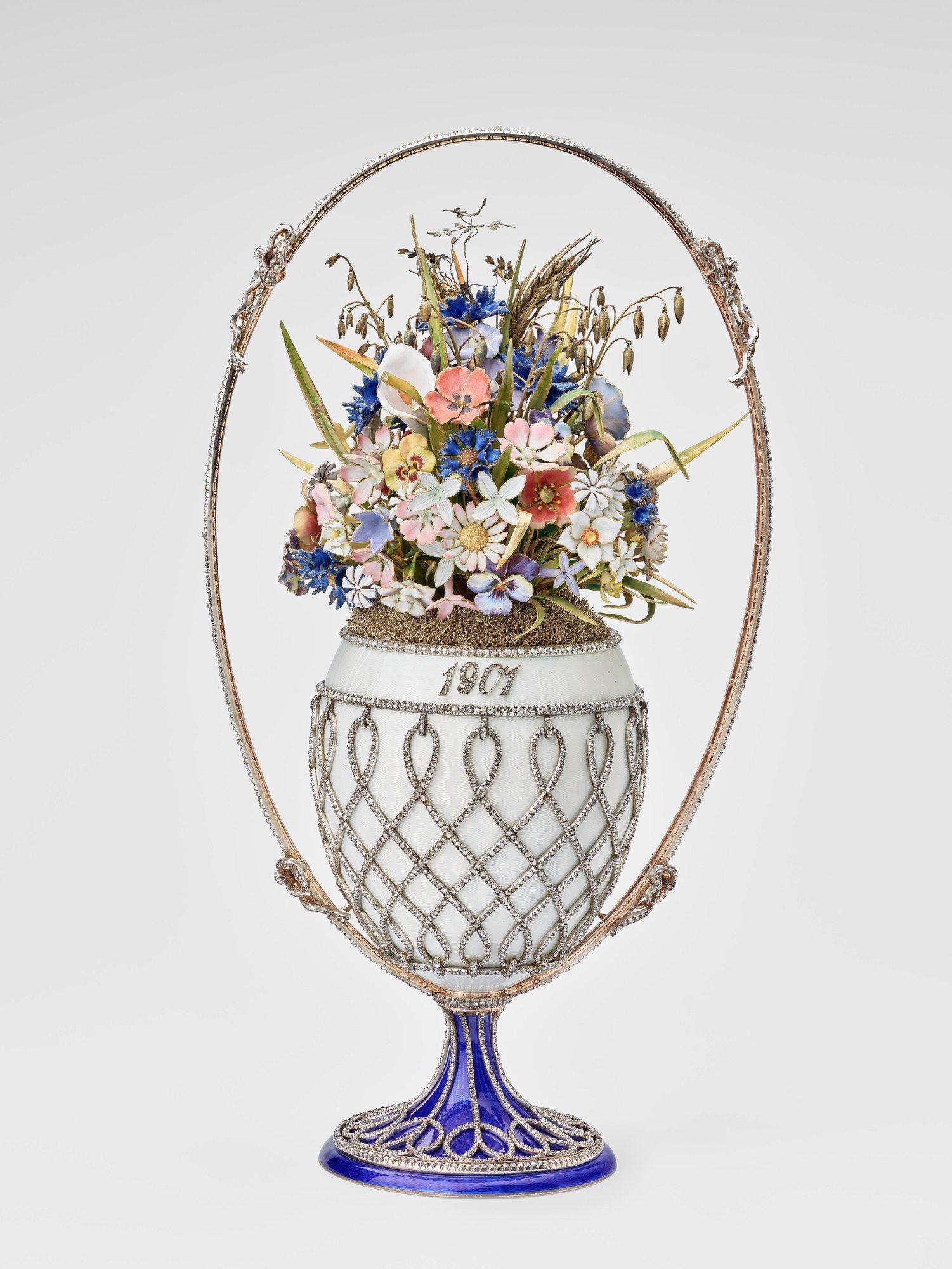 «Корзинка цветов», ныне часть коллекции Елизаветы II.