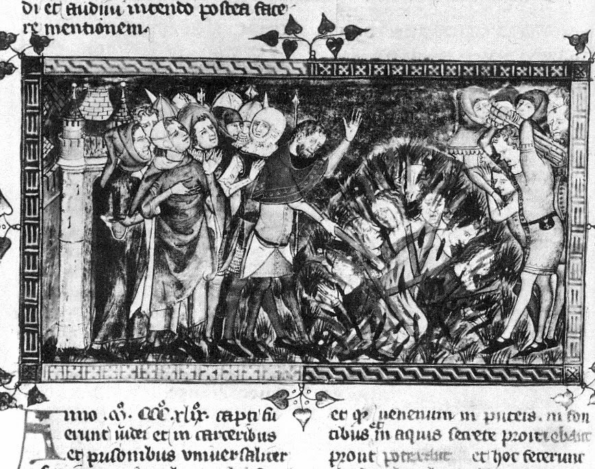 Еврейский погром 1349 года во Фландрии.