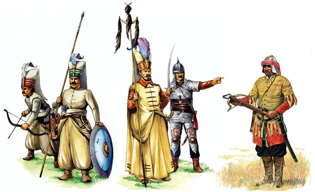 Турецкие воины картинки