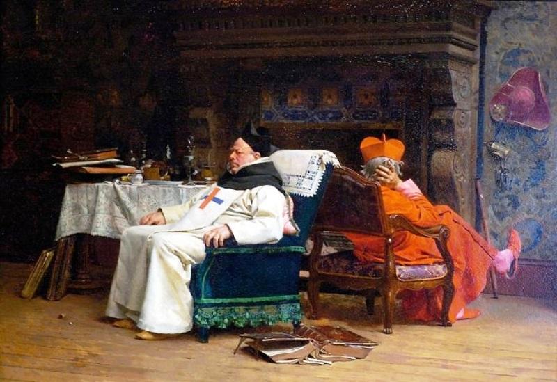 Жан Жорж Вибер. Раскол, 1875.