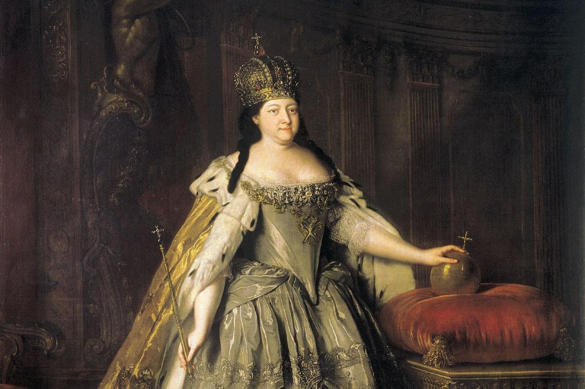 Анна Иоанновна. Источник: Wikimedia Commons