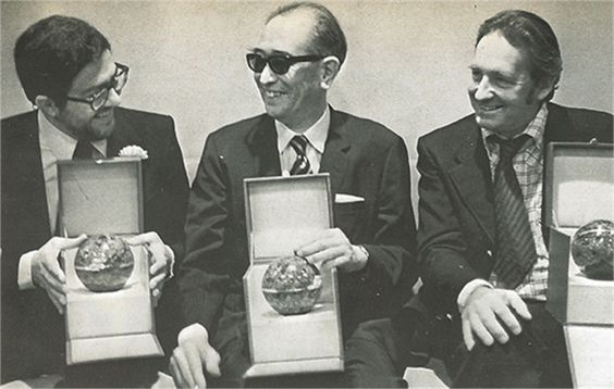 26_Ettore Scola Akira Kurosawa Andrzej Wajda in 1975 at the Moscow International Film Festival .jpg