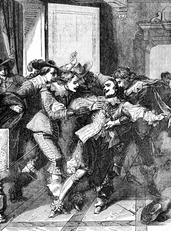 Убийство Бекингема Джоном Фелтоном.
