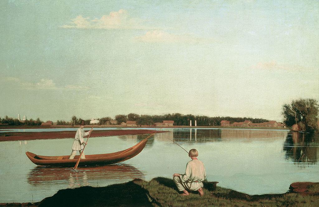 Г. Сорока. «Рыбаки. Вид в Спасском».jpg