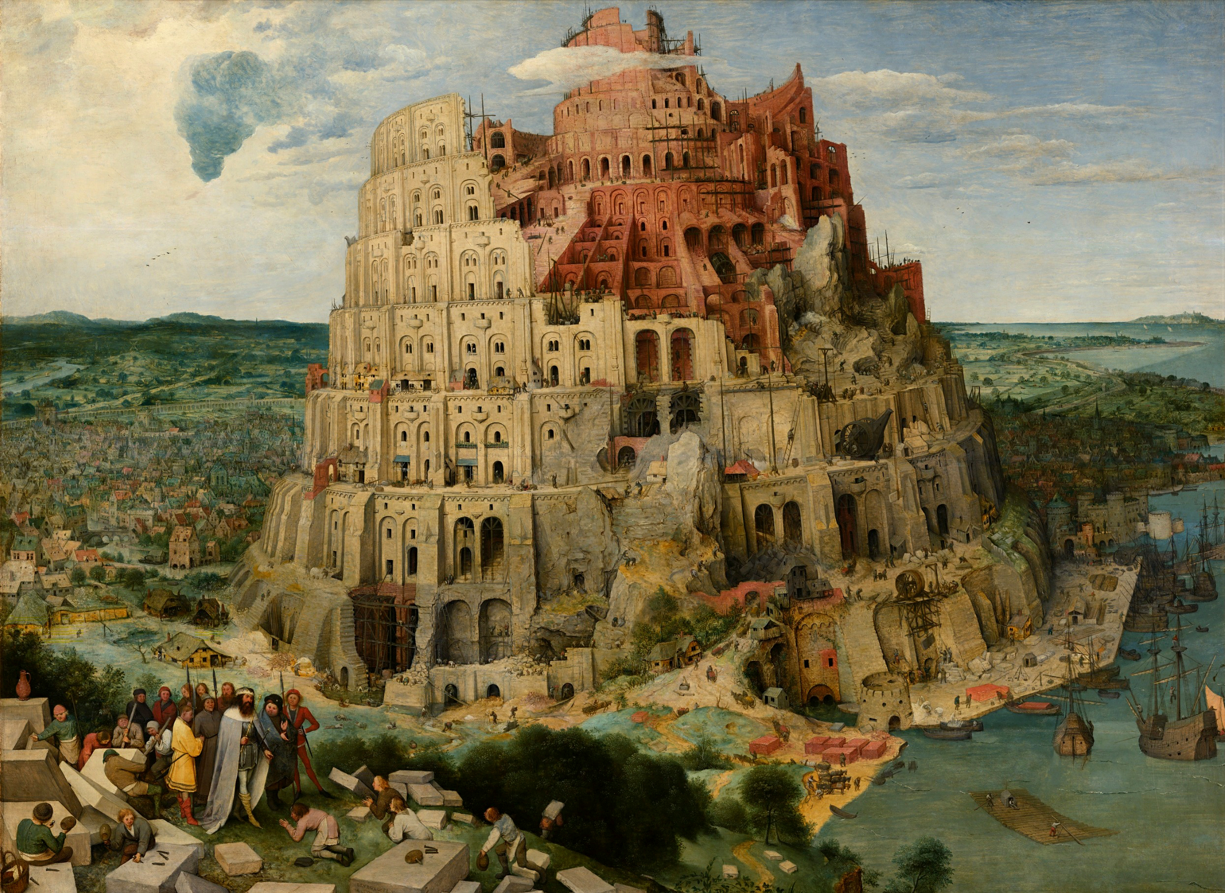 ФОТО 1 Вавилонская башня Питер Бреигель-старшии 1563.jpg