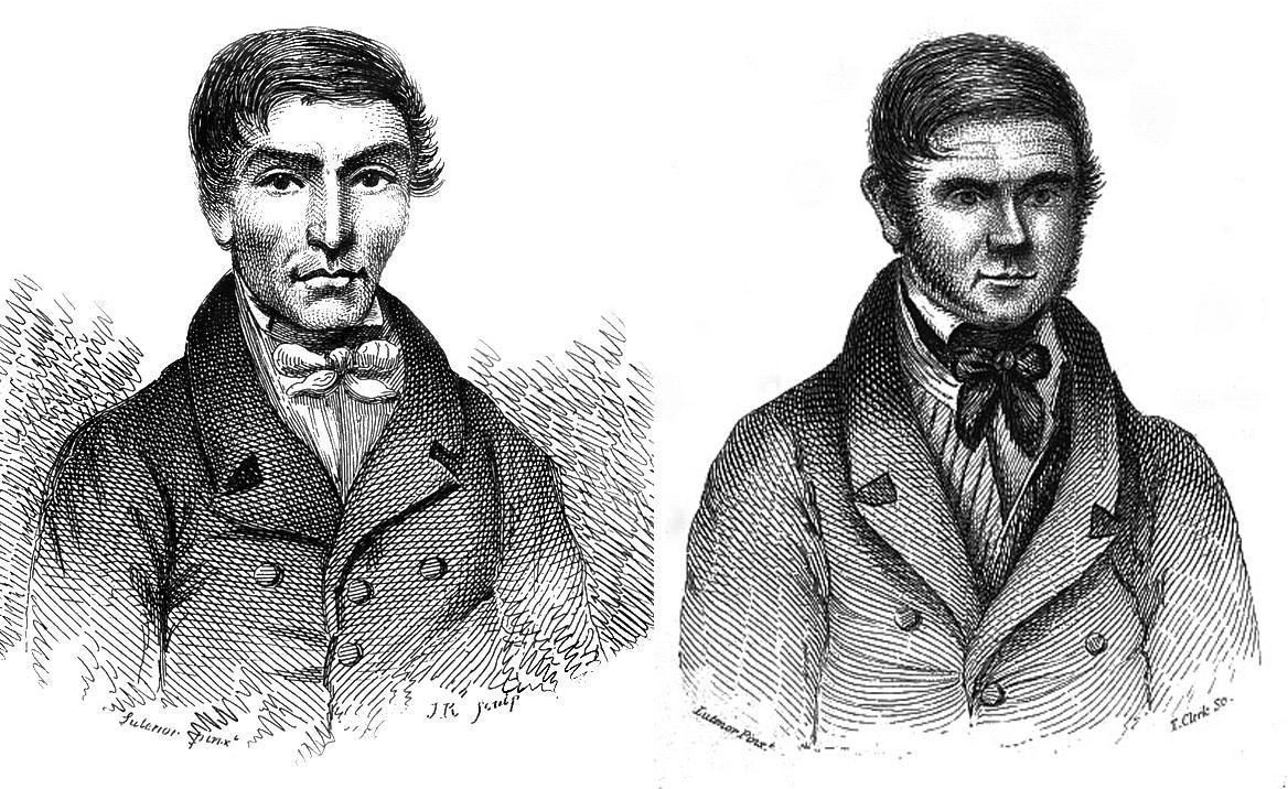 Уильям Хэр и Уильям Берк.