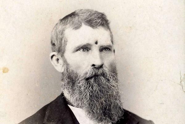 Портрет ветерана Гражданской войны Джейкоба Миллера. <br>