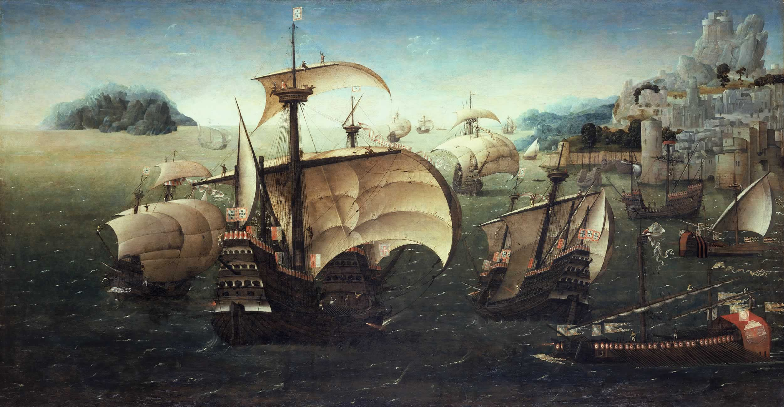 фото 2 Португальская флотилия в 16 веке.jpg