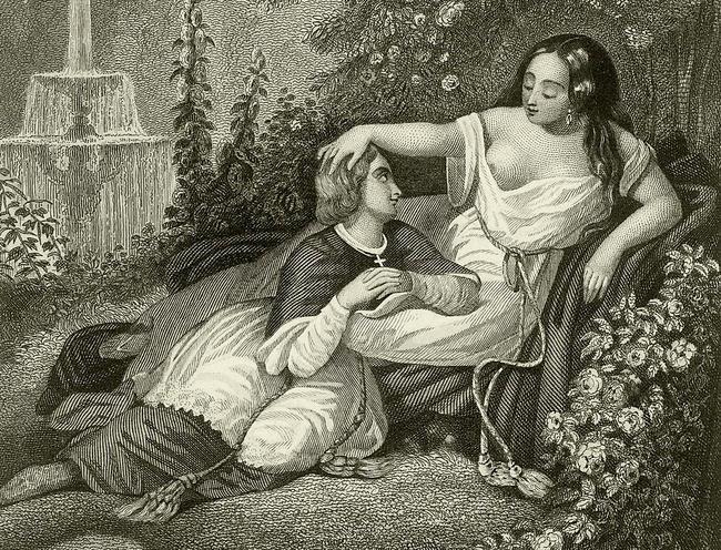 Марозия и еёсын ИоаннXI.