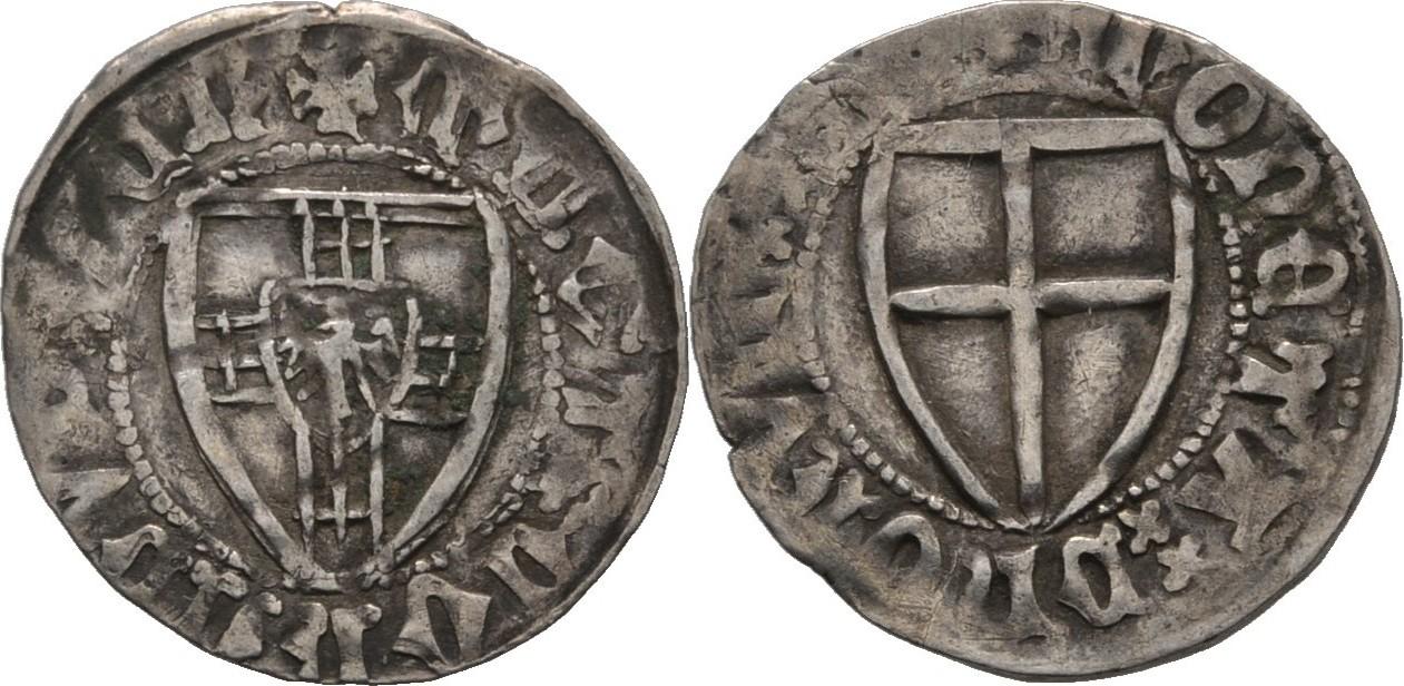 Монеты Немецкого ордена.