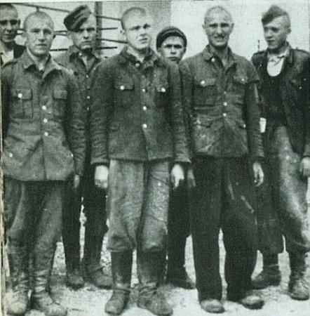 Пленные бандеровцы в Чехословакии, 1945. <br>