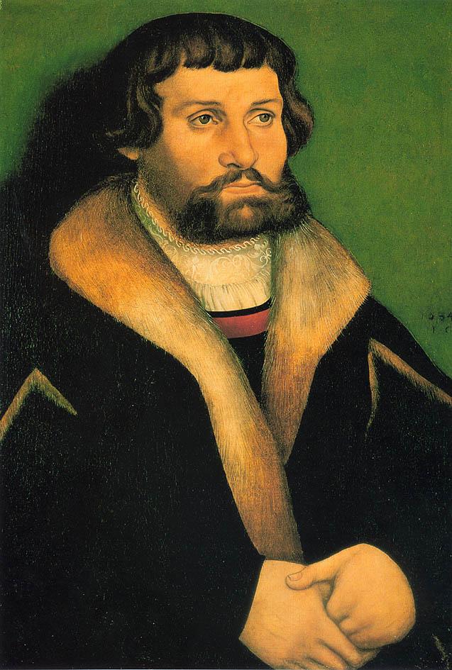 33 Ганс Кранах Портрет мужчины. 1534..jpg