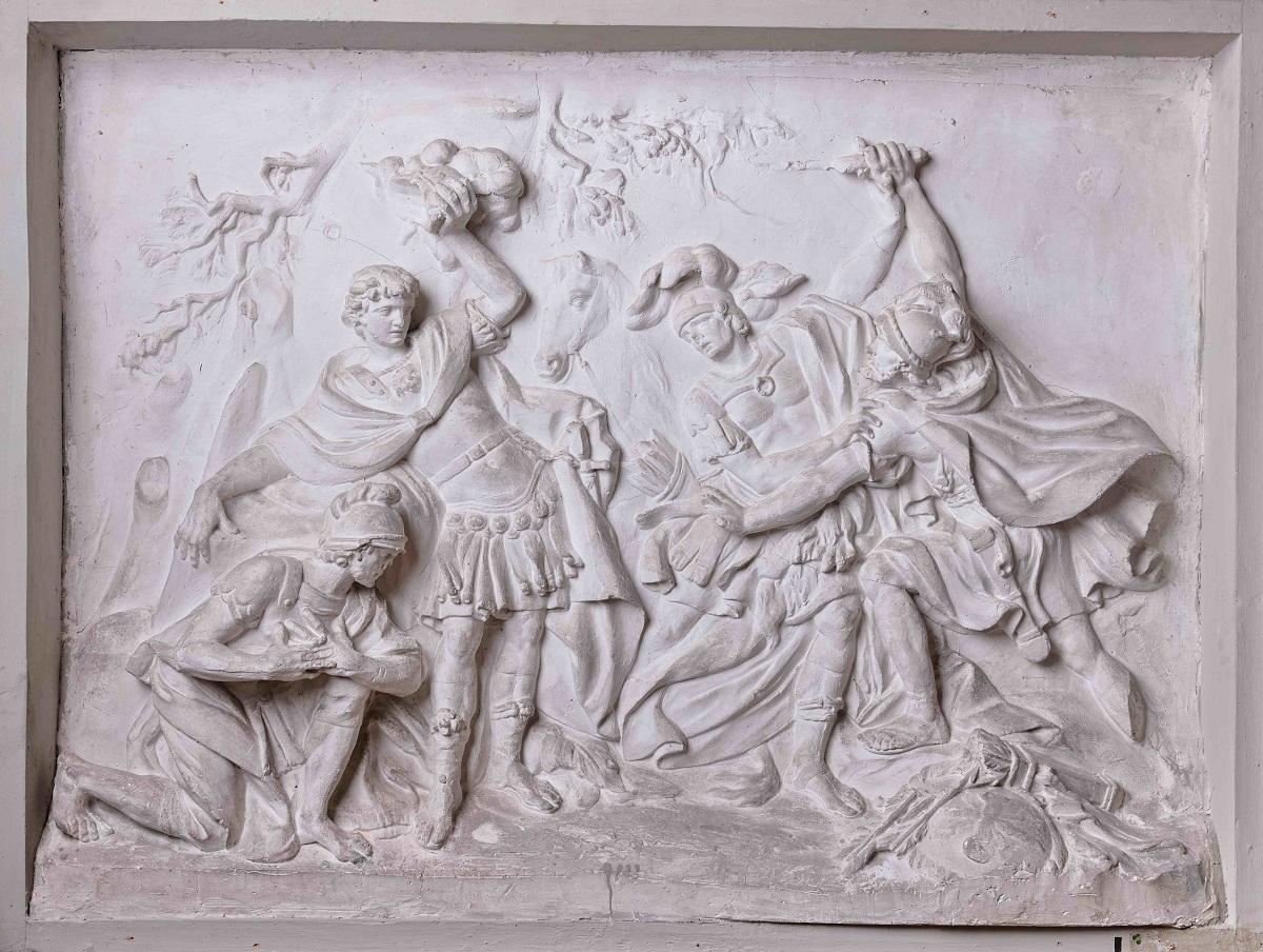 Козловский М. И. Изяслав Мстиславович и воины, 1772.