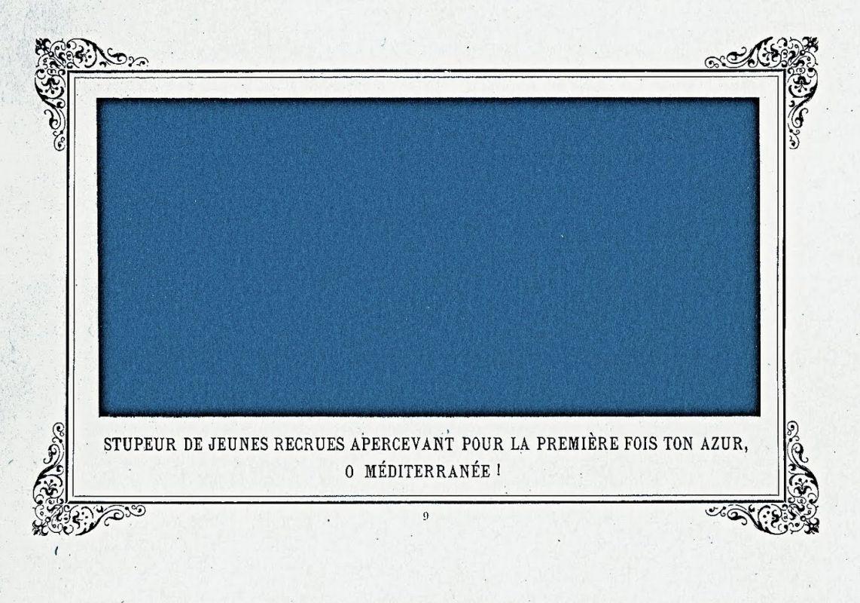 «Оцепенение новобранцев, впервые увидевших лазурь Средиземного моря», 1884.