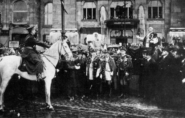 Въезд Хорти в Будапешт.