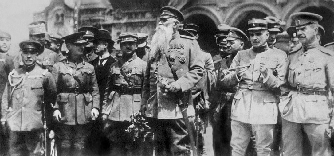 Офицеры интервентов во Владивостоке, 1918г.